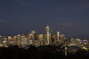Josi Ribeiro Nightfall Kerry Park Seattle