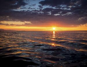Sherrie Cerutti Liquid Sunset Sequim WA