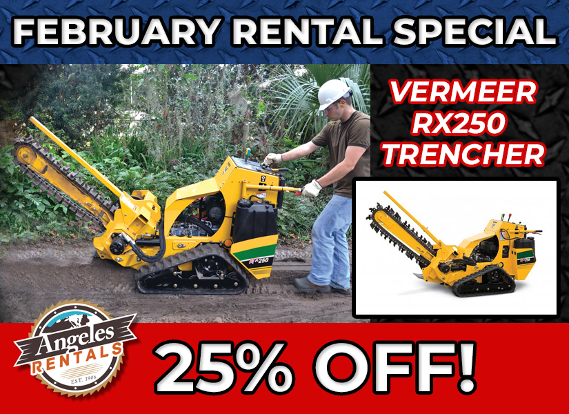RENTAL HIGHLIGHT DISCOUNT TRENCHER