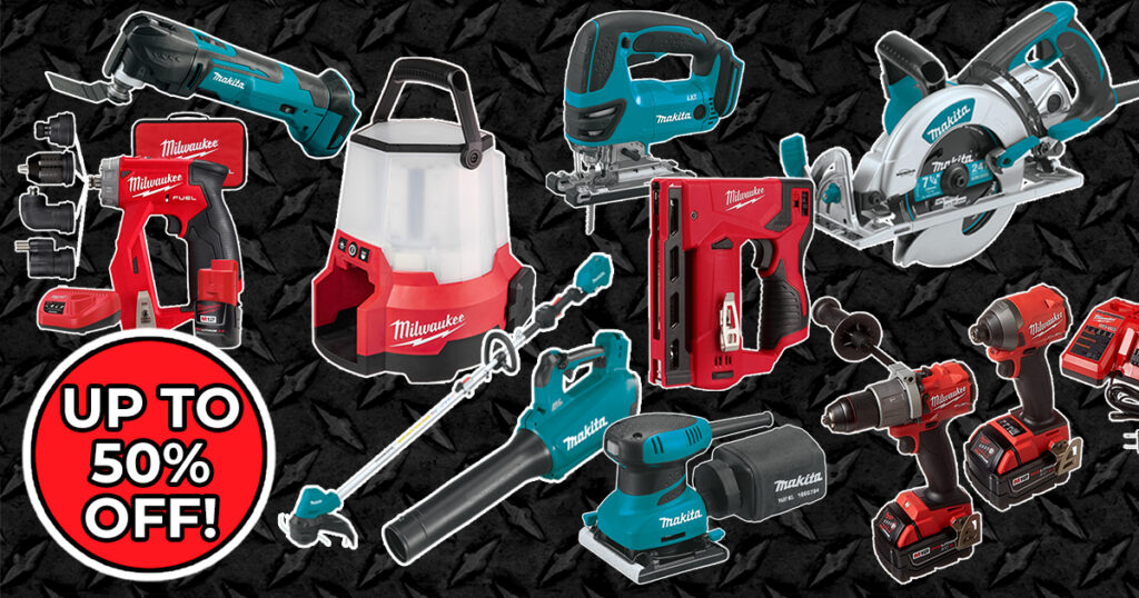 MAY POWER TOOL SALE FEATURED IMAGE