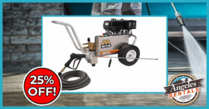 PRESSURE WASHER 25 OFF FEATURED IMAGE
